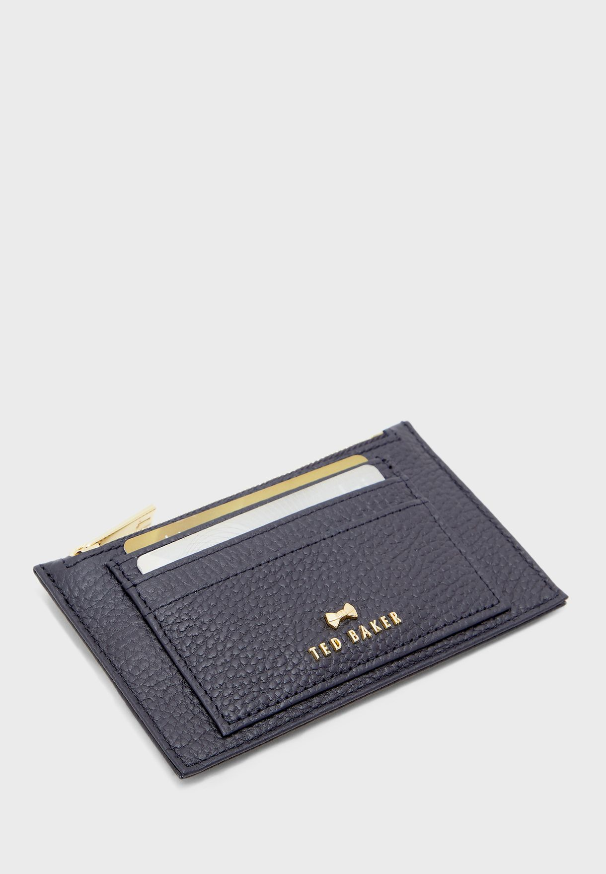 Two Sided Zipped Card Holder
