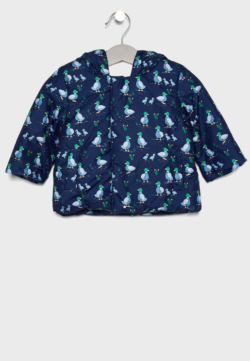 Infant Printed Jacket