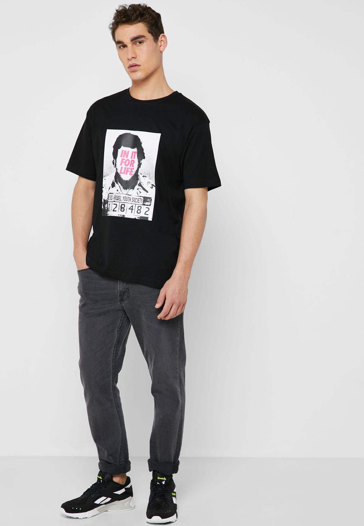 For Life Semi Box T-Shirt