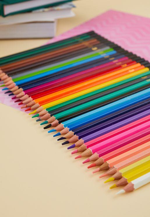 36 Pack Watercolour Pencils
