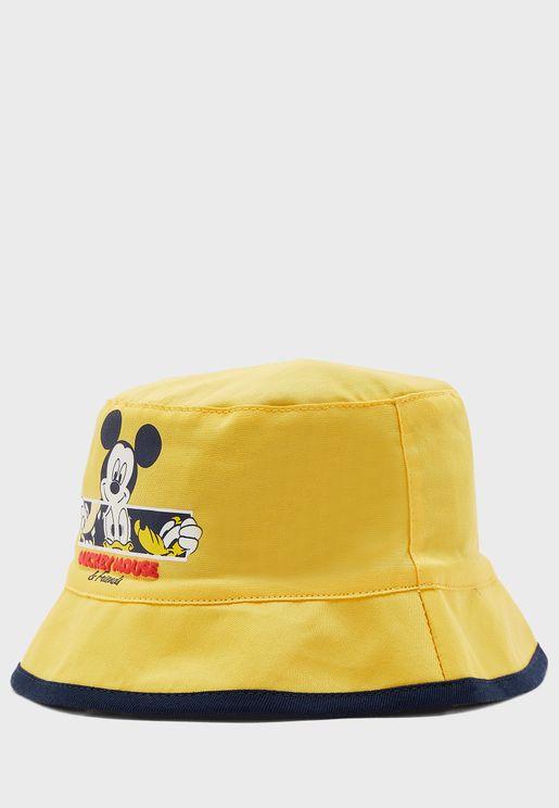 قبعة بطباعة ميكي ماوس