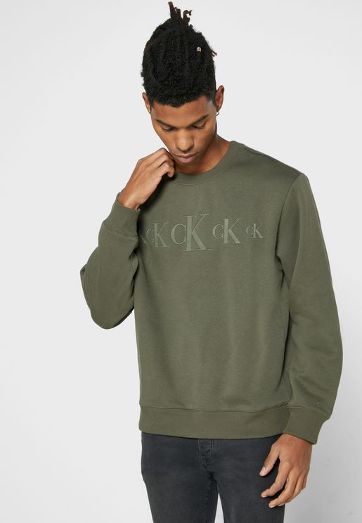 Repeat Logo Sweatshirt