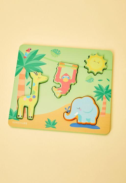 Safari Puzzle Set