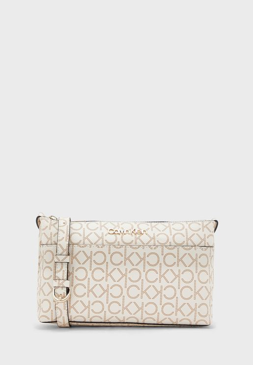 Monogram Logo Crossbody