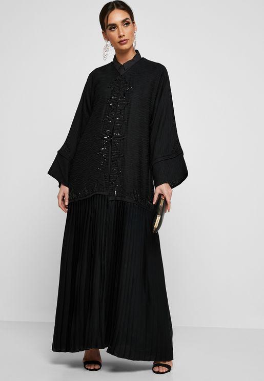 Beaded Abaya