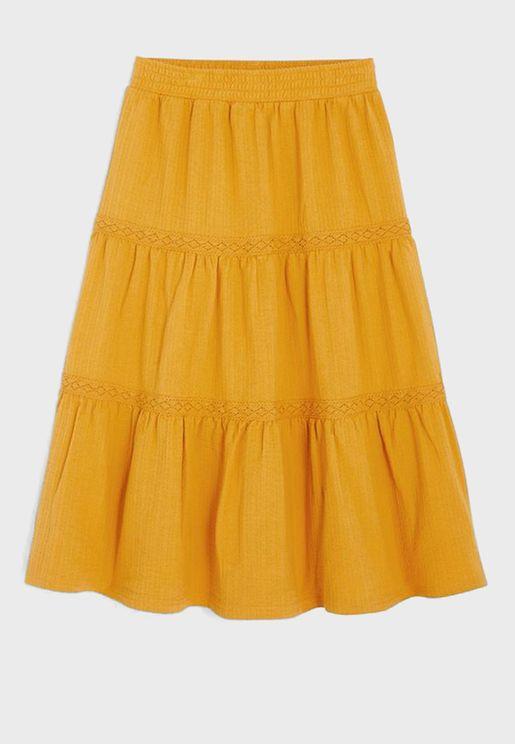 Kids Tiered Skirt
