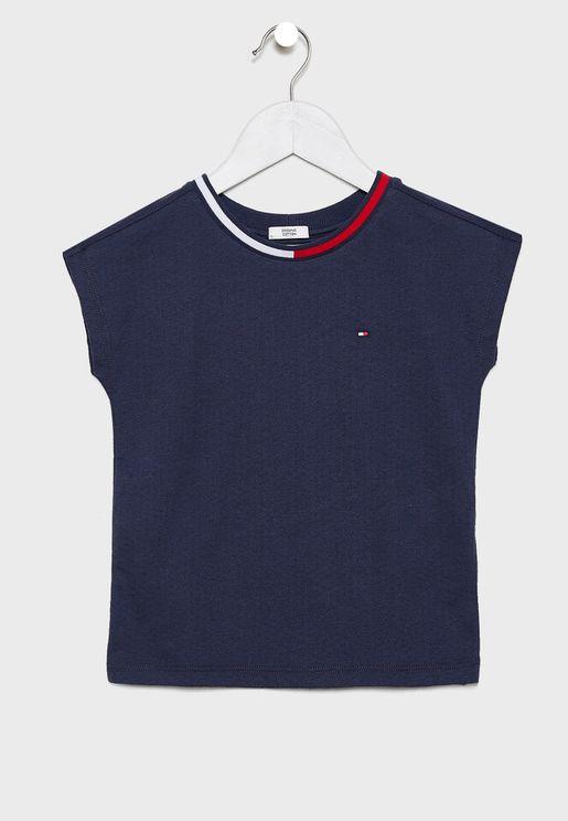 Little Mesh T-Shirt