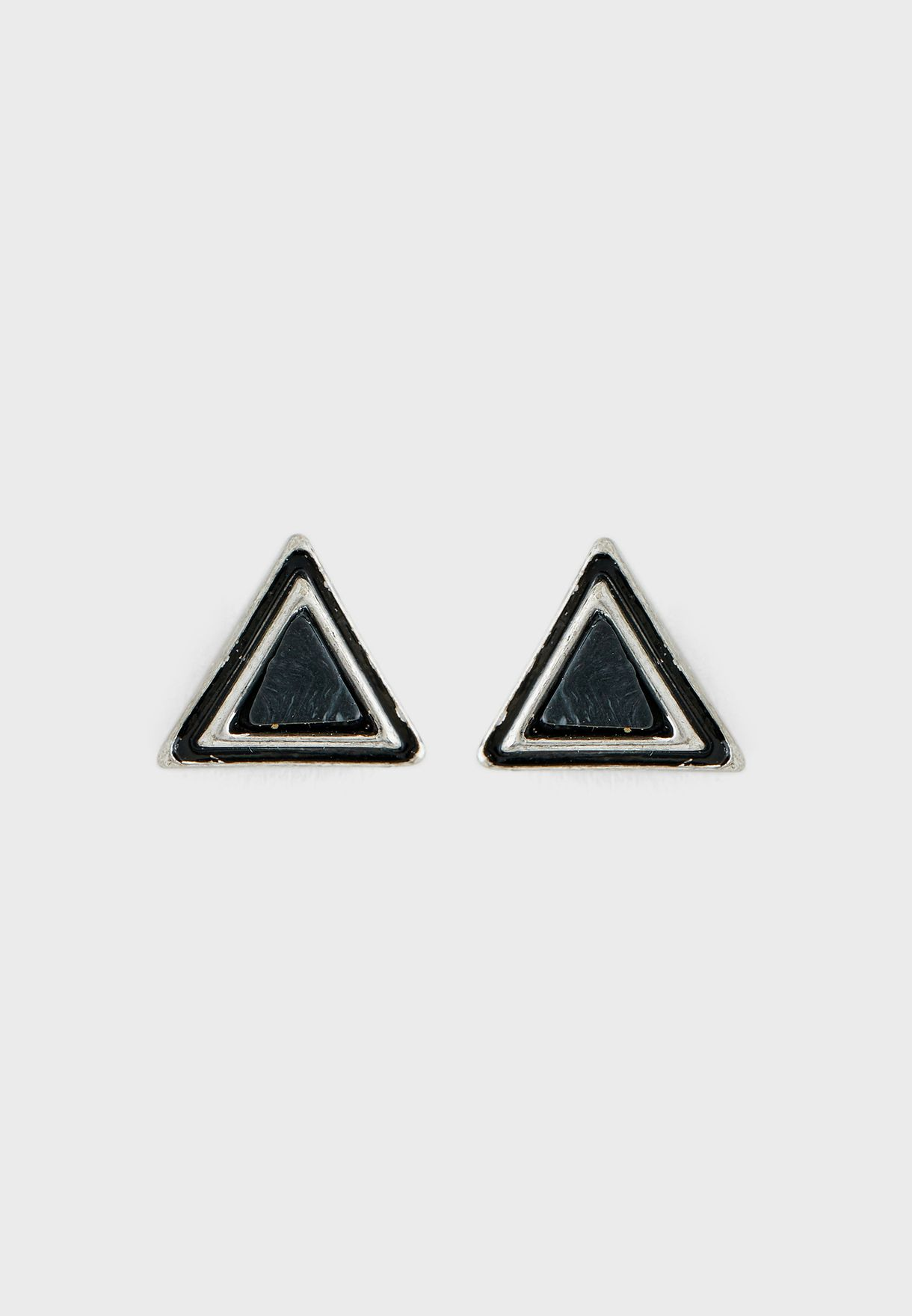 Triangulation Studs Earring