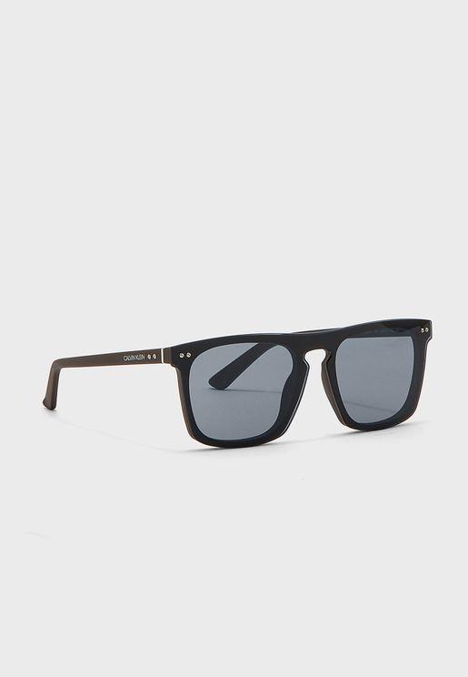 نظارة شمسية شكل بيضاوي