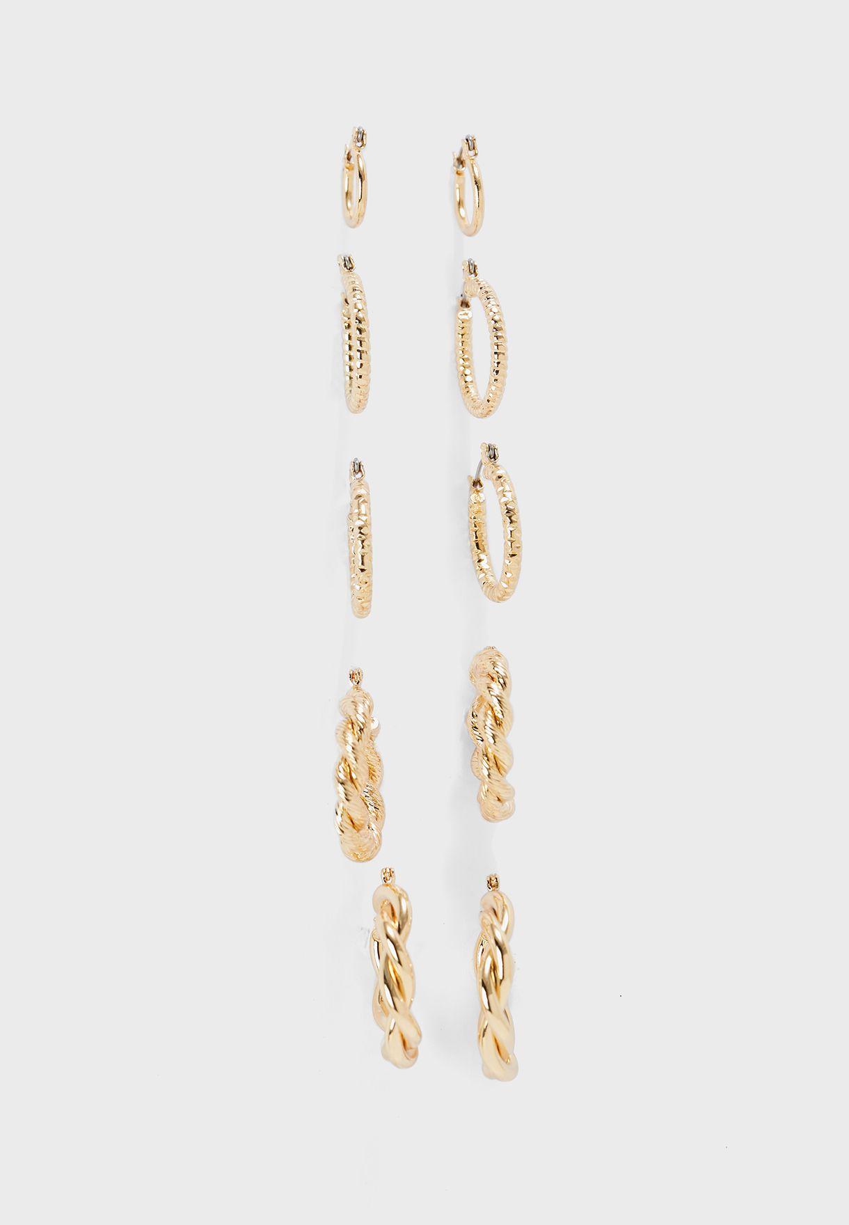 Multipack Cristel Creole Earrings