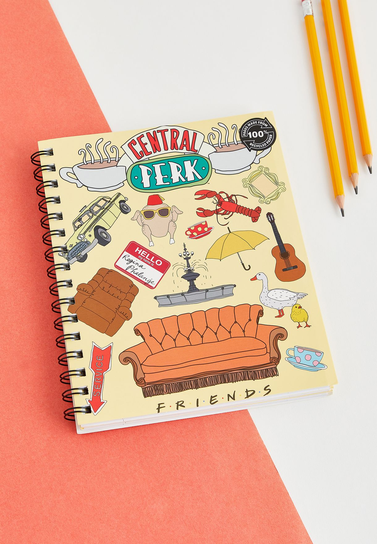 A5 Friends Central Perk Notebook