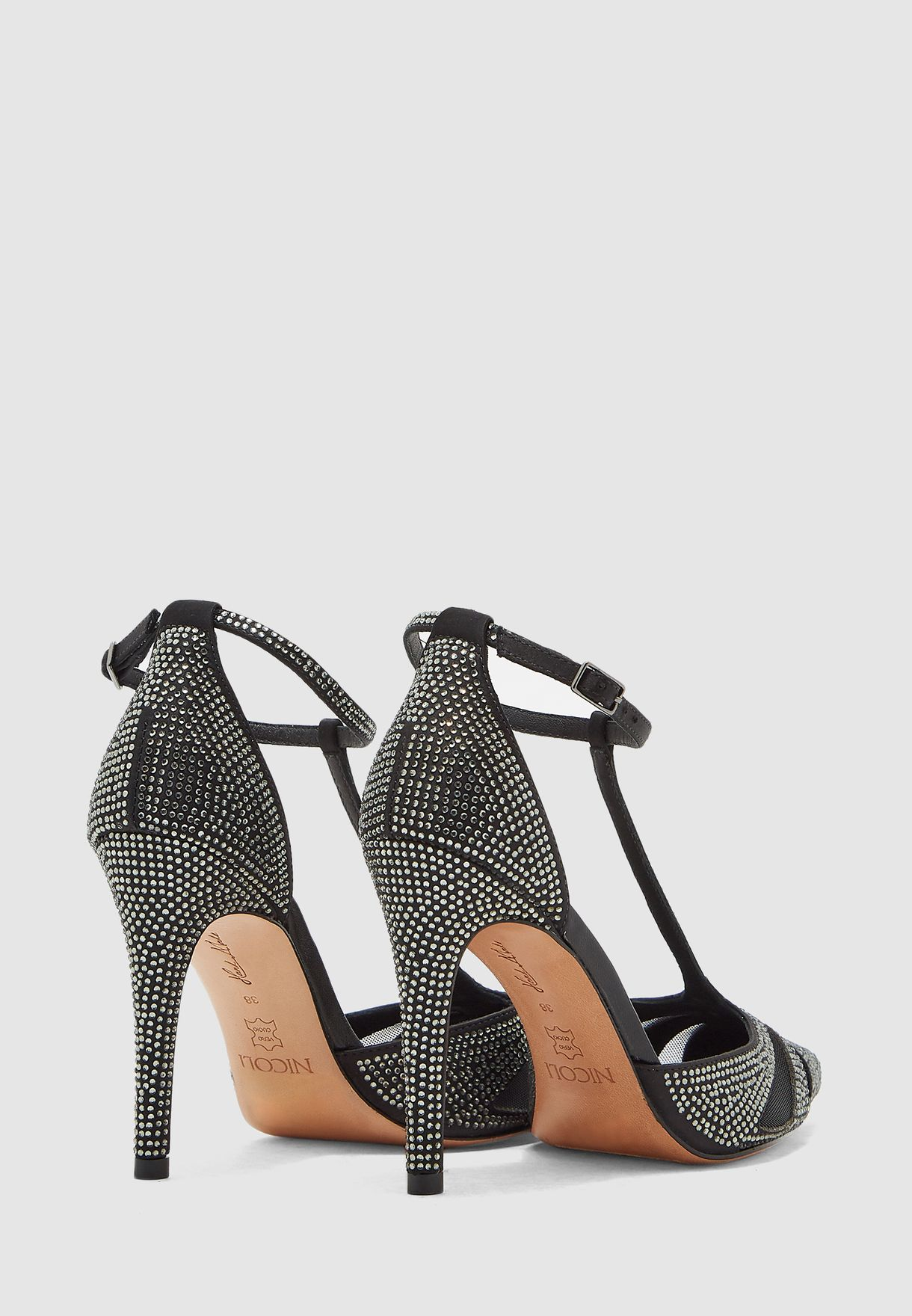 Monique Ankle Strap Pump
