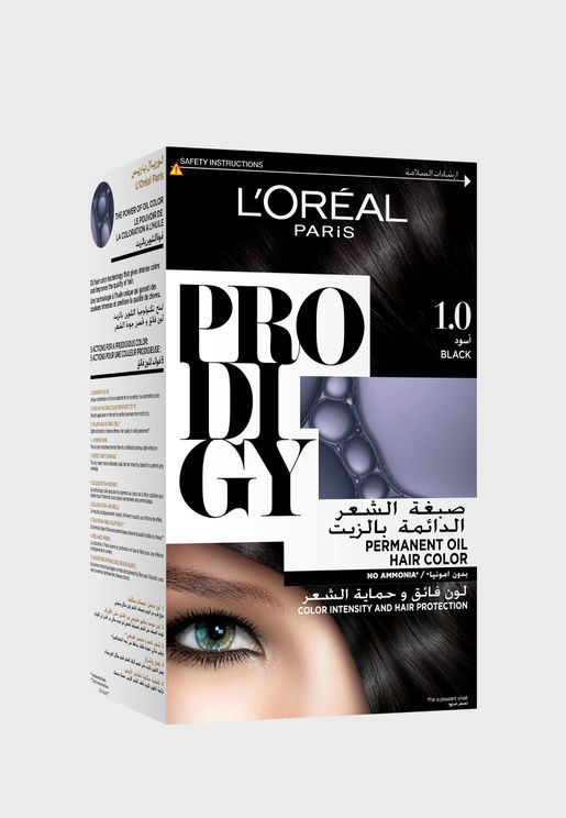 Prodigy Permanent Hair Color Black