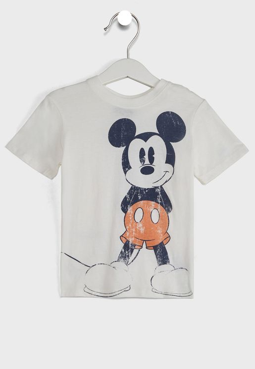 Kids Vintage Mickey Mouse T-Shirt
