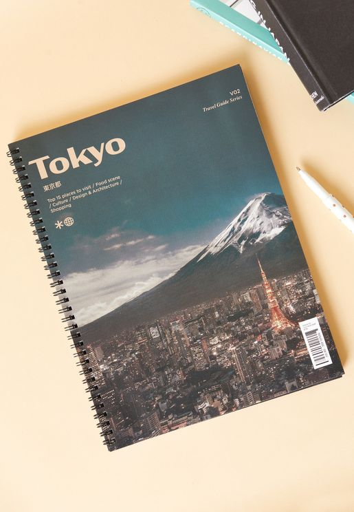 A4 Tokyo Culture Spinout Notebook