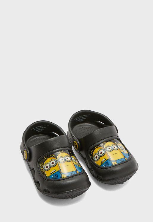 Kids Minions Clog Sandal