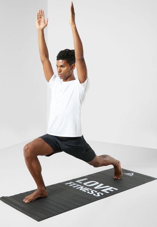 Logo Yoga Fitness Mat
