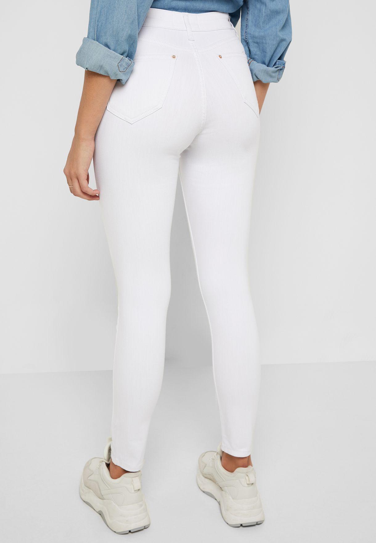 Lizzie Light Wash Skinny Jeans