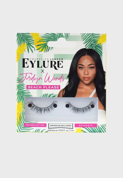 Jordyn Woods Lashes -Beach Please