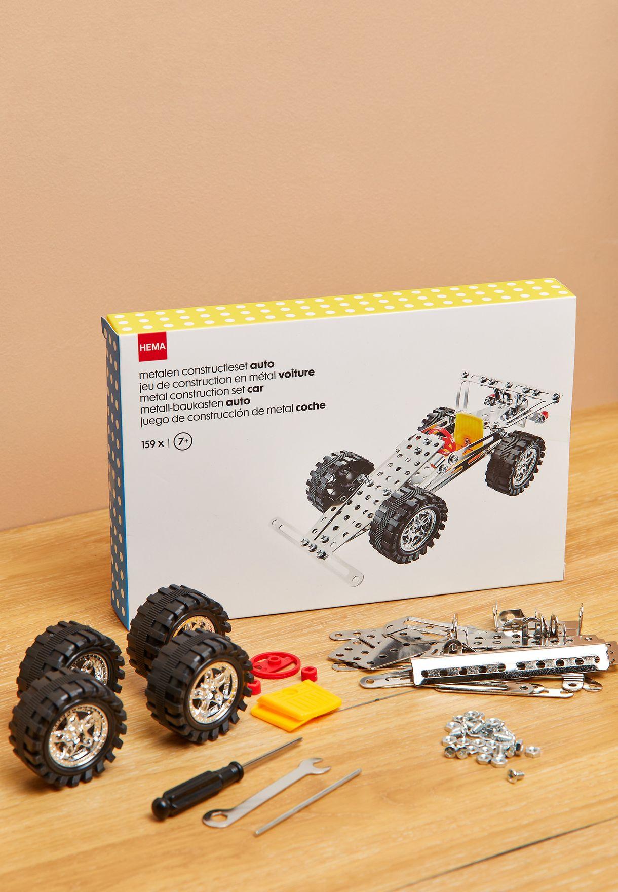 مجموعة معدنية لبناء سيارة