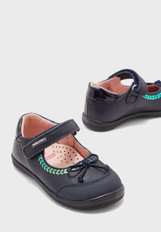 حذاء باليرينا جلد اصلي