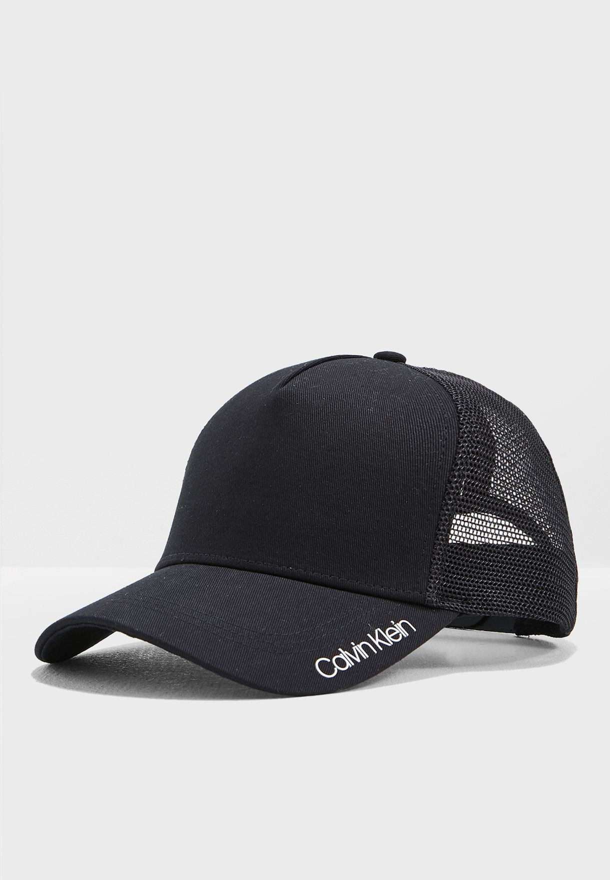 a03fe0a8d891e Shop Calvin Klein black Trucker Cap K50K504471 for Men in UAE ...