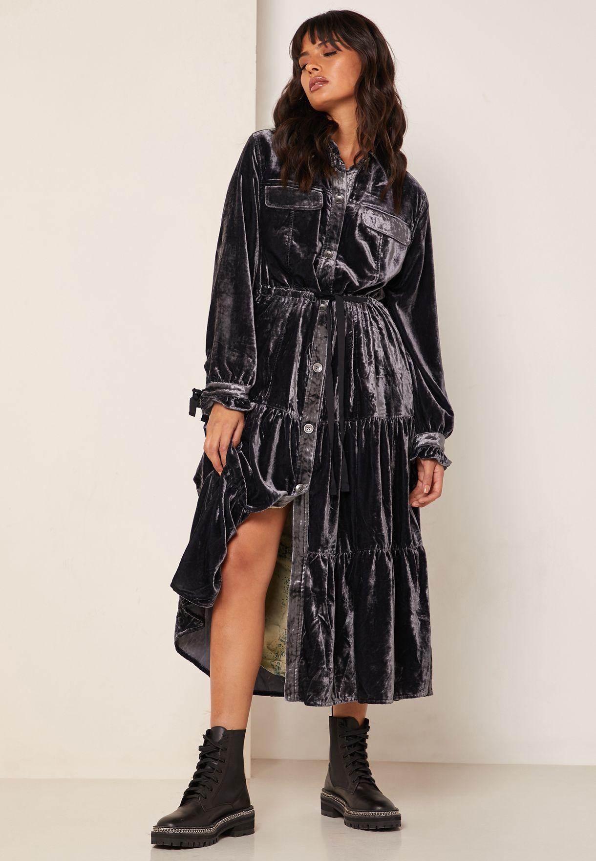 Bella Donna Longline Denim Coat