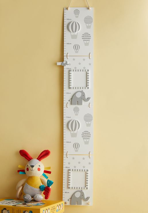 Elephant Printed Growth Chart
