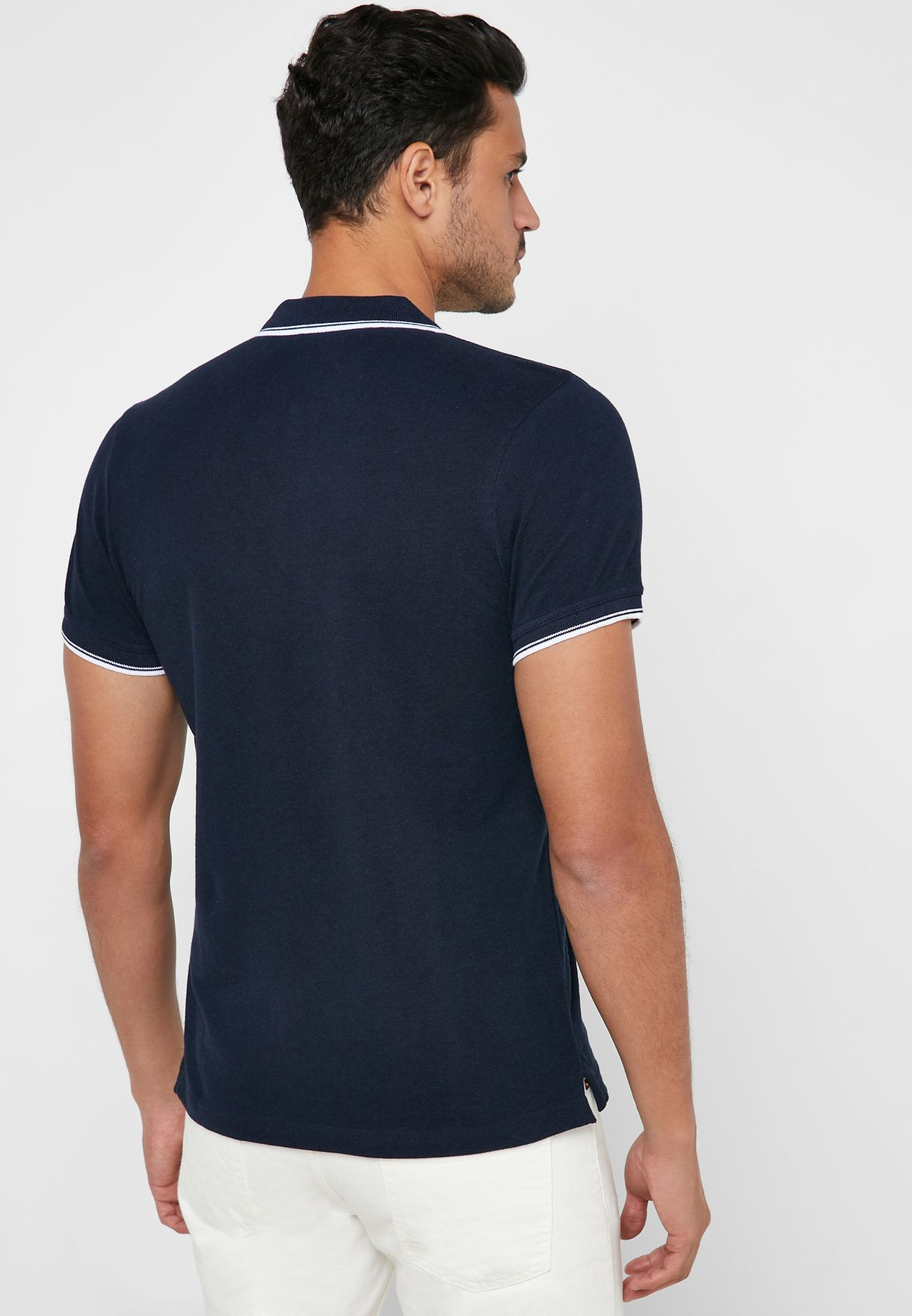 Contrast Edge Regular Fit Polo