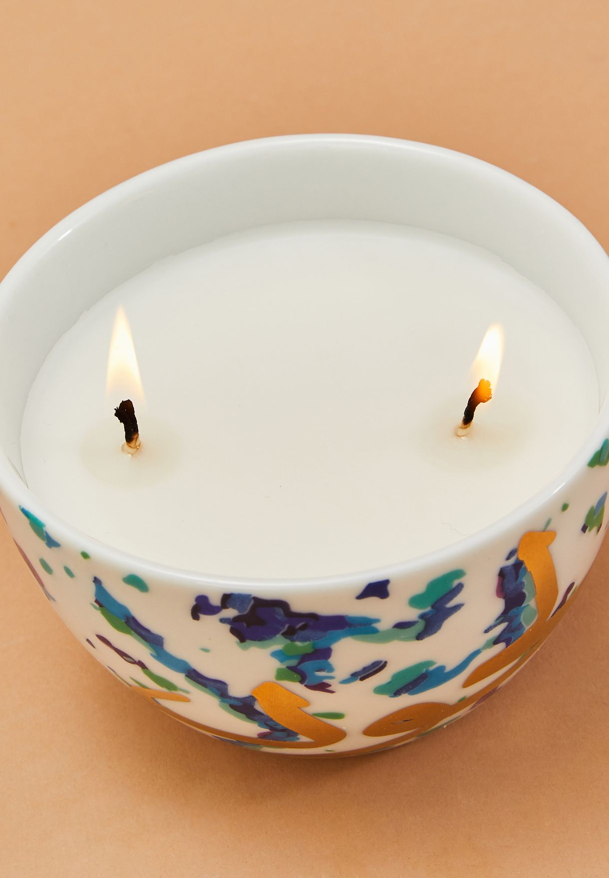 Lavender-Scented Fairuz Candle in a Gift Box