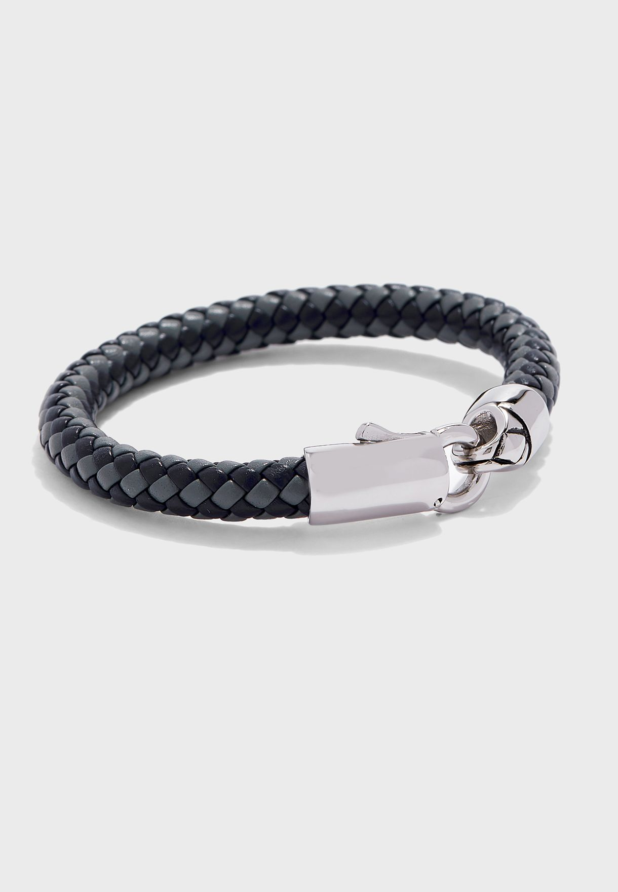 Chunky Leather Clasp Bracelet