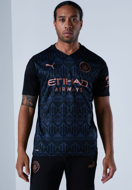 Manchester City Away Replica T-Shirt