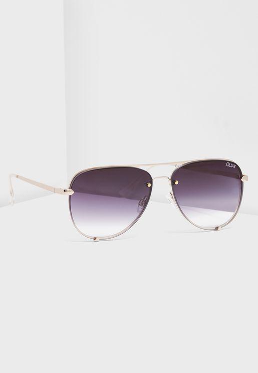 نظارة شمسية أفياتور صغيرة الحجم