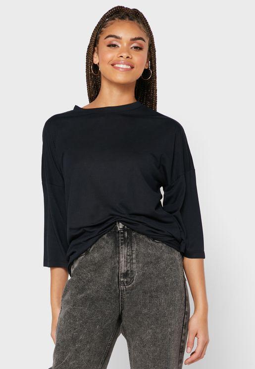 Wide Sleeve Top