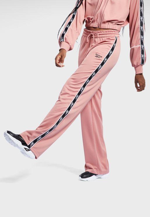 Classics Poly Wide Tape Sweatpants