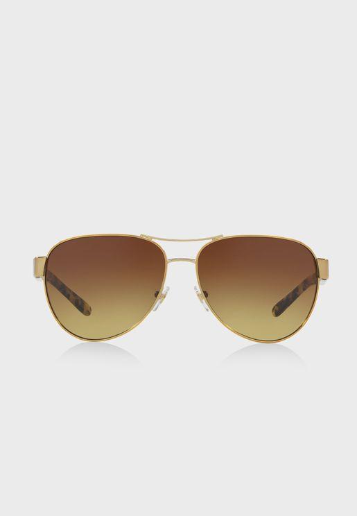 0TY6051  Aviator Sunglasses