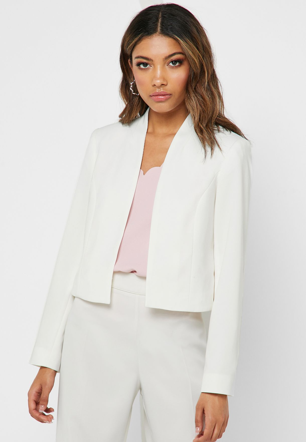 Crop Tailored Jacket