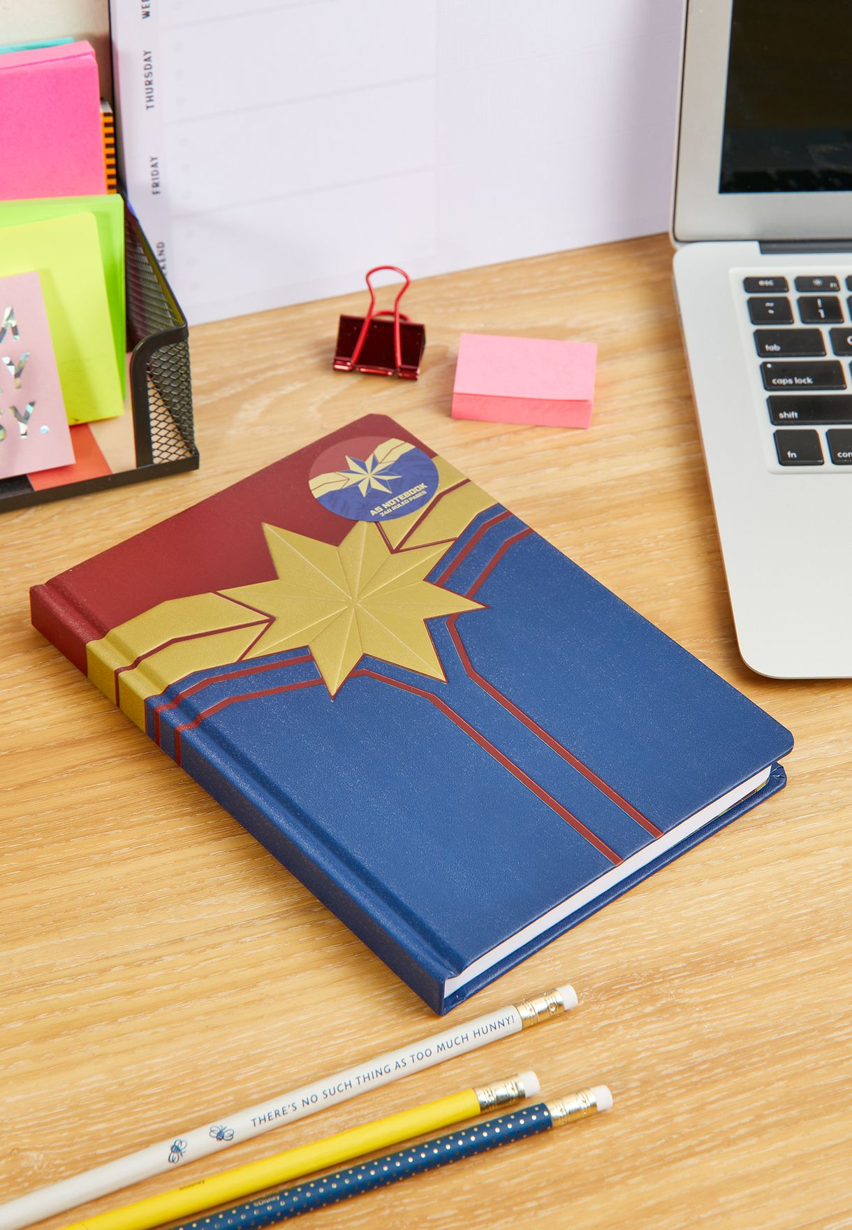 Marvel A5 Captain Notebook