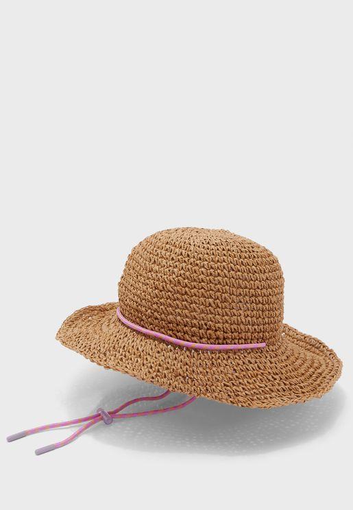 Kids Braided Bucket Hat