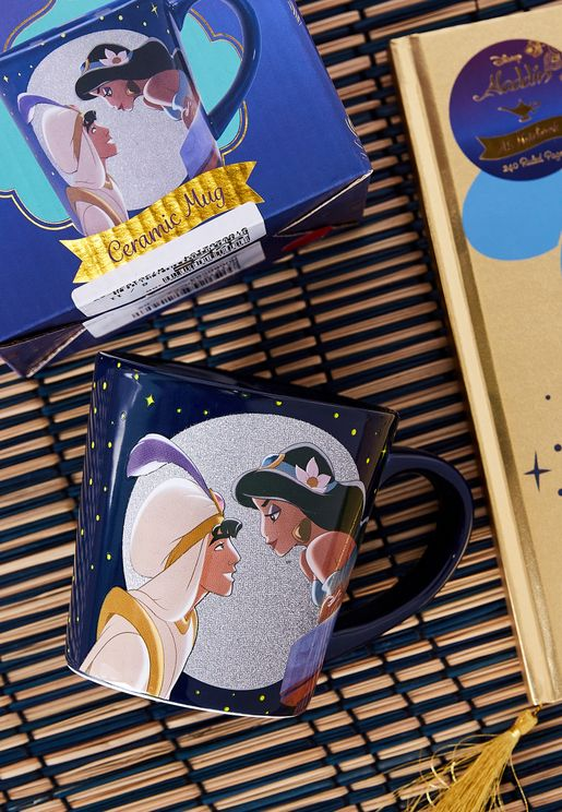 Disney Jasmine & Aladdin Tapered Mug