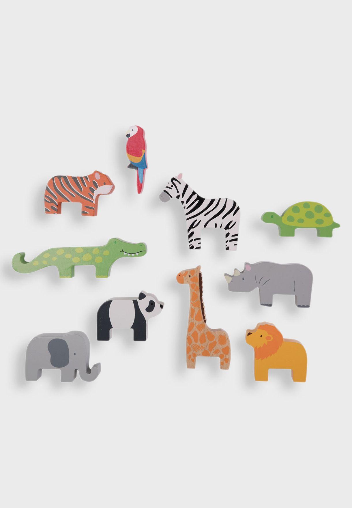 Stacking Jungle Animals