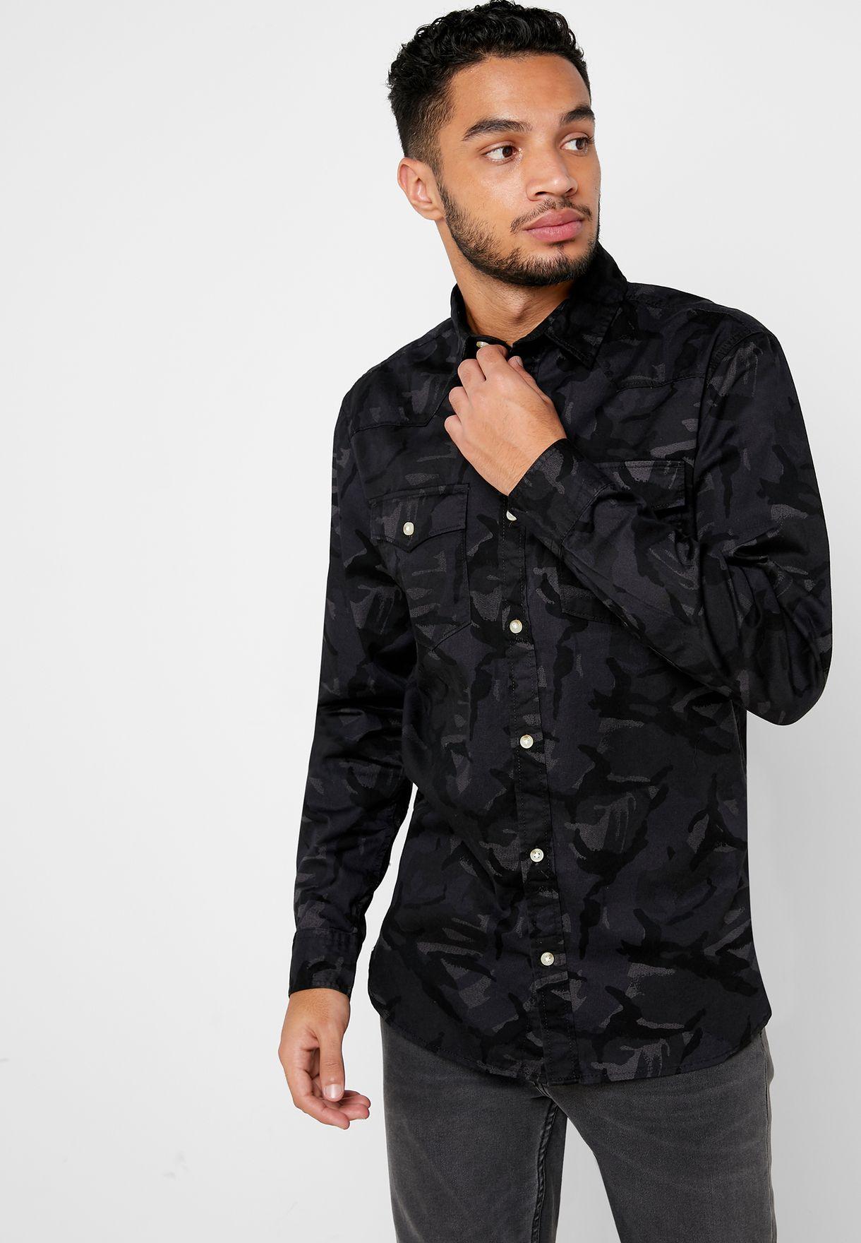 Camo Slim fit Shirt