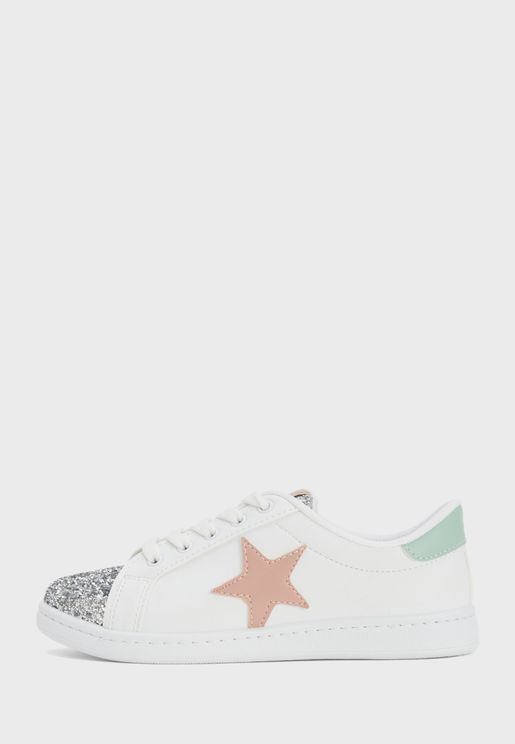 Youth Star Detail Sneaker