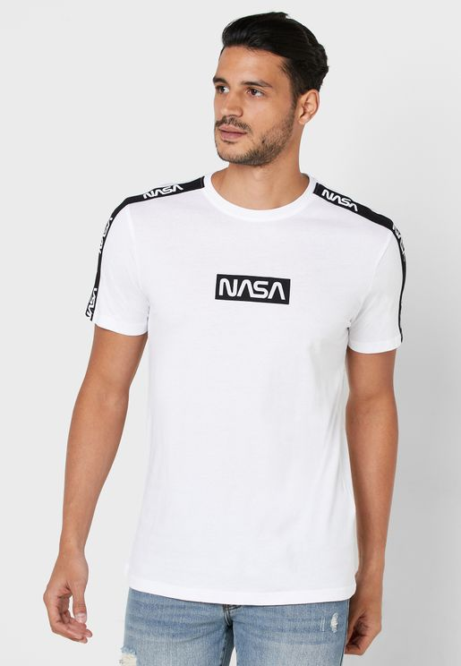 Nasa License Crew Neck T-Shirt