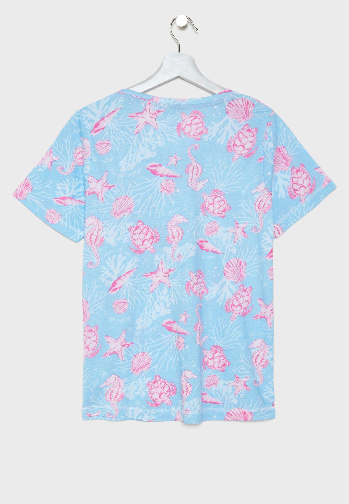 Floral Printed Set
