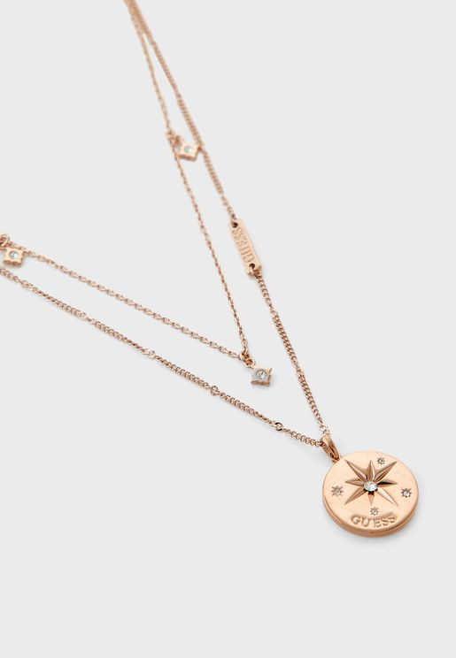 Compass Layered Necklace