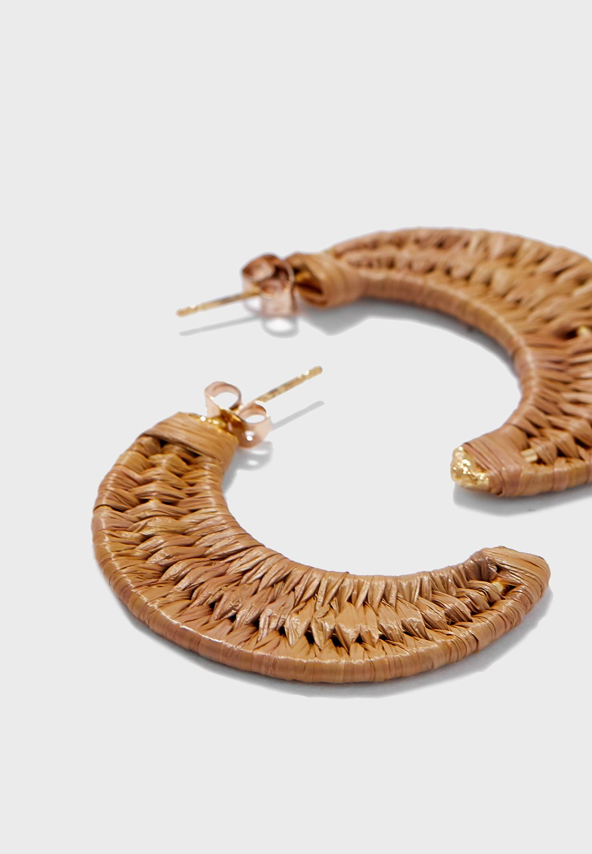 Naga Hoop Earrings