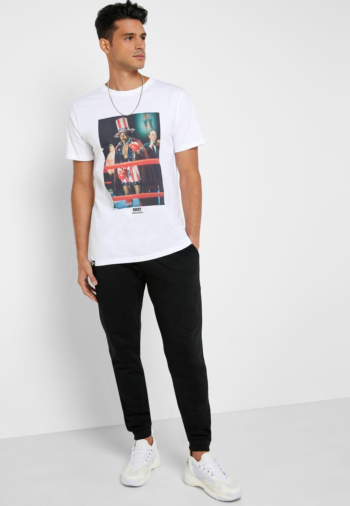 Stockholm Apollo Creed Crew Neck T-Shirt