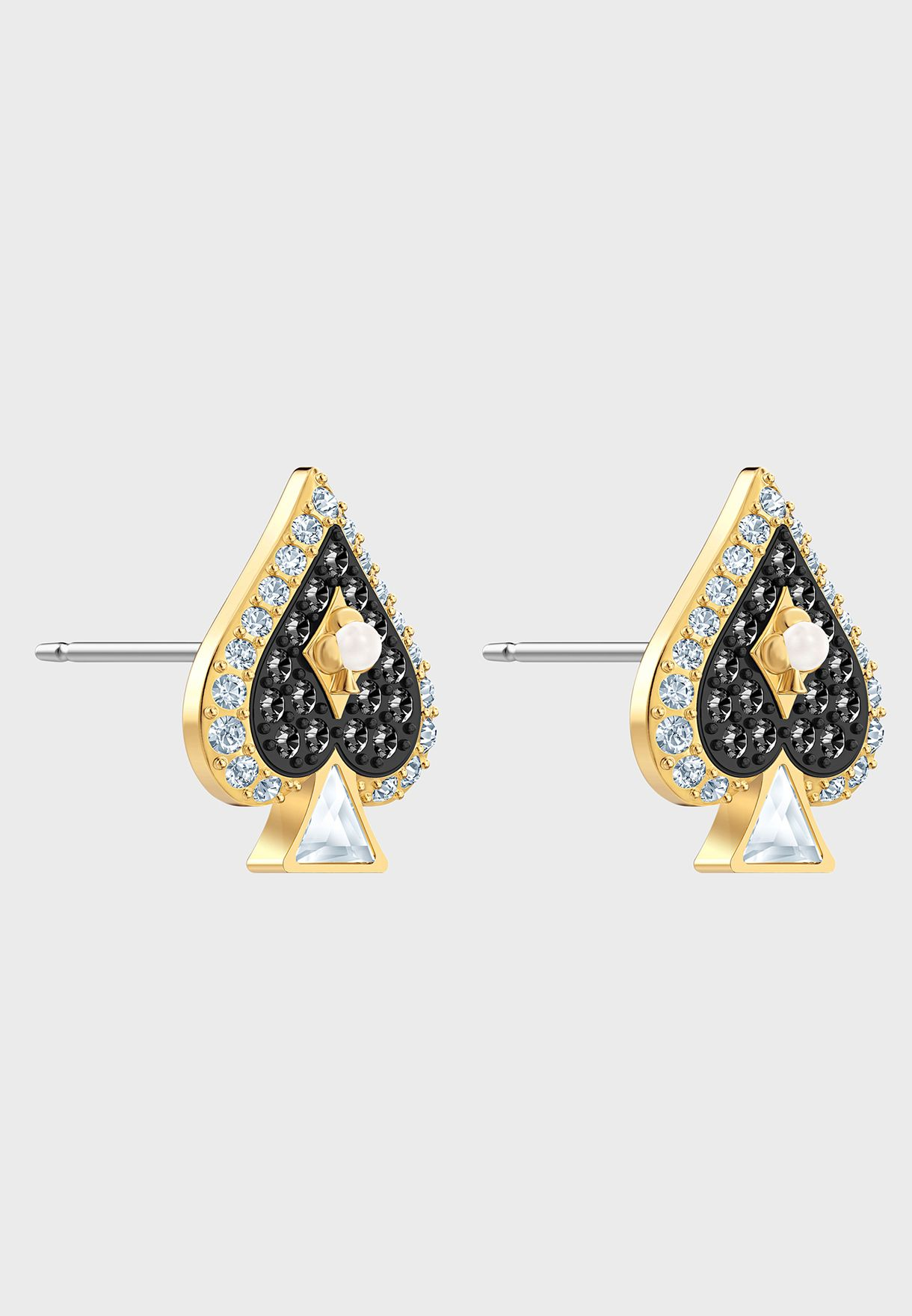 Tarot Magic Spade Stud Earrings