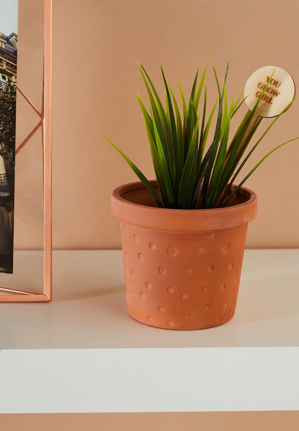 Message Pot Planter